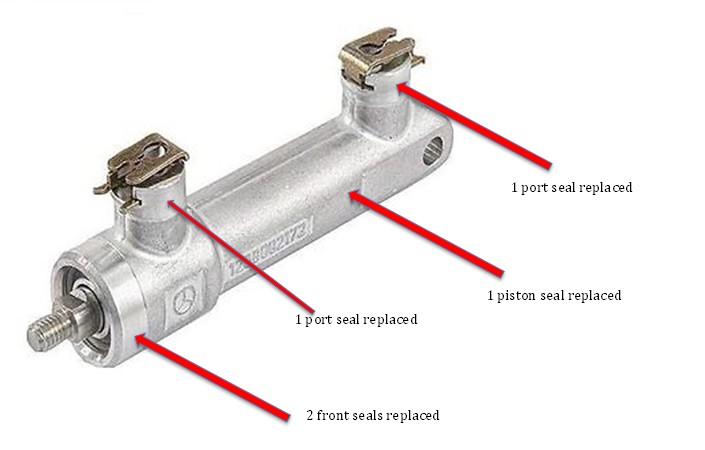Mercedes Hydraulic Roof Control Repair